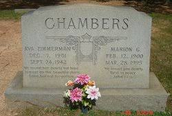 Ava Zimmerman Chambers (1901-1942) - Find A Grave Memorial