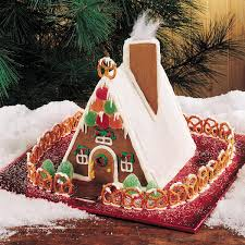 Gingerbread Kitchen Curtains 15 Gingerbread House Ideas Taste Of Home Gingerbread Kitchen Decor