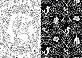 Disney Patterns Stunning Art Of Coloring Disney Princess 48 Images To Inspire Creativity