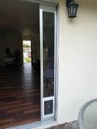 dog door insert for slider best sliding glass