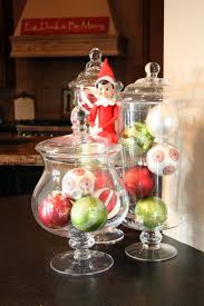 Decorating Ideas For Glass Jars Big Glass Jars For Christmas Decorating Ideas Christmas Decorating 44