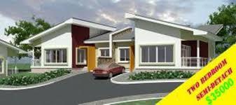 2 Bedroom Semi Detached House Plans Ghana Arts