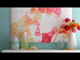 how to make watercolor wall art in two steps youtube on water wall art youtube with how to make watercolor wall art in two steps youtube diy room