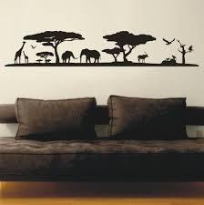 african sunset silhouette vinyl decals wall art stickers on vinyl wall art stickers durban with wall decals african sunset silhouette vinyl decals wall art
