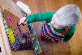 picture to paint for kids.  Picture Easy Art For Kids Painting On Foil Intended Picture To Paint For Kids