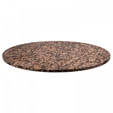 30 round granite table top baltic brown