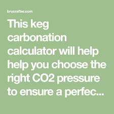 Force Carbonation Calculator And Pdf Chart Home