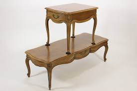 Living Room Furniture Free Shipping Thomasville Furniture 1966 Living Room Pair Of Coffee End Tables