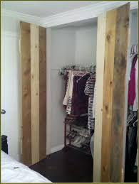 hardwood home depot bifold doors with white wooden wall for closet organizer