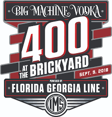 Brickyard 400 Mel Mcmahon