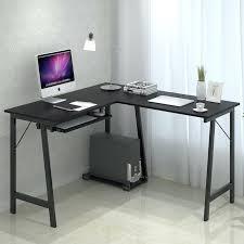 computer desk black brilliant minimalist computer desk stylish minimalist corner computer desk black color with keyboard computer desk black