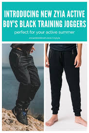 Introducing Zyia Active Boys Training Joggers Direct