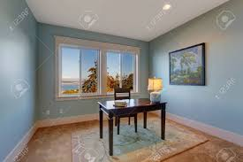office room colors. Office Room Colors. Simple In Light Blue Color And Bay View. Dark Colors M