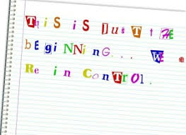 ransom letter generator the constitution as fodder for roberts obamacare ransom note