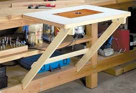 benchtop router table plans. fold away router table benchtop plans m