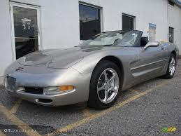 2002 Light Pewter Metallic Chevrolet Corvette Convertible ...