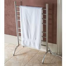 towel warmer rack. Freestanding Heated Towel Rack Warmer E