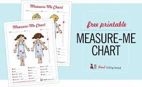 Kids Measurement Chart Printable Big News And Some Winners
