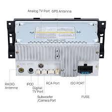 wiring diagram for a dual car stereo 36 wiring diagram images 2002 2003 2004 2005 2006 2007 dodge dakota p u durango aftermarket car bluetooth radio gps 10 1