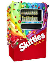 Skittles Vending Machine Inspiration Skittles And Trale Lewous Are Odd Partners Snack ATtaCK