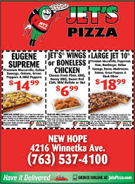 jet s pizza facebook page