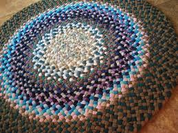 braided rag rug new ready to ship handmade hand braided round braided rug rag