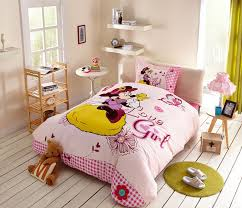 love girl minnie mouse bedding set twin queen size love