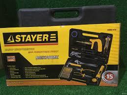 <b>Набор инструментов Stayer Standard</b> - Механик 22052-H15 т2914