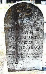Effie Sutton (1878-1889) - Find A Grave Memorial