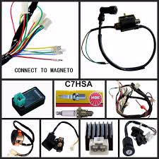 full electrics wiring harness cdi coil cc cc atv quad bike full electrics wiring harness coil cdi 110cc 125cc go kart atv quad bike buggy