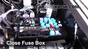 replace a fuse 2014 2016 toyota tundra 2015 toyota tundra 6 replace cover secure the cover and test component