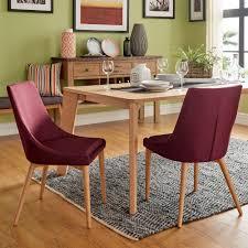Sasha Oak Barrel Back Dining Chair (Set of 2) iNSPIRE Q Modern (Tawny