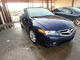 Jh4cl96927c014889 2007 Blue Acura Tsx On Sale In Tampa South Fl Lot 29630525 Car Auctions Acura Acura Tsx