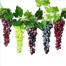<b>NieNie 1PCS Artificial Grapes</b> Artificial Raisins Fake Fruits DIY Mini ...