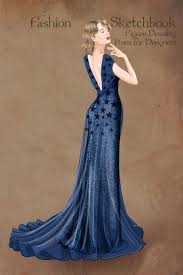 1930 Designers Buy Fashion Sketchbook Figure Drawing Poses For Designers