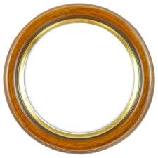 round frame solid wood glass and rear bordl 3 3