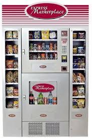 Office Deli Snack Soda Combo Vending Machine Stunning EXPRESS MARKETPLACE Combo Snacksoda Vending Machine Seaga Em48
