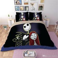 bedding nightmare before bedding set bedclothes unique duvet cover scary ghosts duvet cover printed