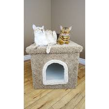 New Cat Condos Large Hidden Litter Box Enclosure - Free Shipping Today -  Overstock.com - 13923889