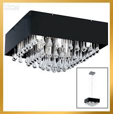 new contemporary clear drip square crystal chandelier light pendant lamp ceiling black shade modern chandelier candle chandelier from lightingword