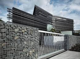 fence design. Modern Natural Stone Fence Design Fence Design