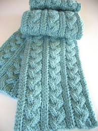 Knitted Scarf Patterns Magnificent Free Knitting Pattern For Braided Cable Scarf And More Scarf