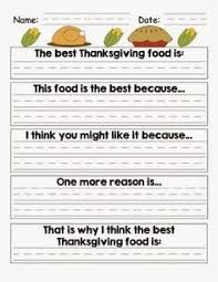 opinion piece persuasive writing for rd th grade  mrs first grade thanksgiving