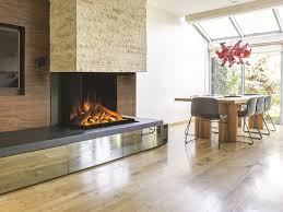 3 sided electric glass fireplace with remote control panorama gf3 800 by british fires