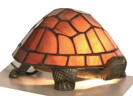 tortoise lighting. Tortoise Purple Tiffany Table Lamp - Oaks Lighting E