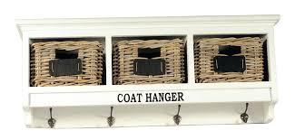 Oak Coat Rack With Baskets Custom Picture Frame Coat Rack Mirrored Solid Oak Coat Rack With Classic