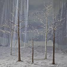 Amazoncom  Lightshare 5 Feet Snow Dusted Tree 72 LED Lights Twig Tree Christmas