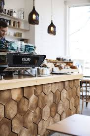 Clapham staycation | Story Coffee interior | mini break | scandinavian  decor | wood panels. Coffee Shop DesignRustic ...
