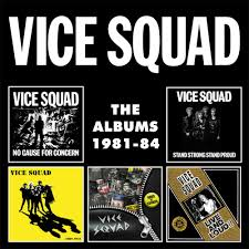 Design Squad String Thing Vice Squad The Albums 1981 84 Album Review