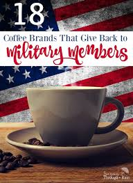 Veteran owned businesses (vob), active duty military, reservists and service disabled veteran owned small companies (sdvosb) of the united states army (usarmy), air force. 18 Coffee Brands That Give Back To Military Members